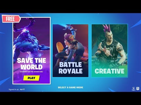 How To Get Save The World For FREE In Fortnite