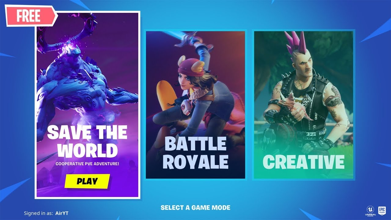 fortnite save the world when free