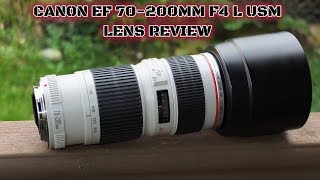 Canon EF 70-200mm F4 L lens Review