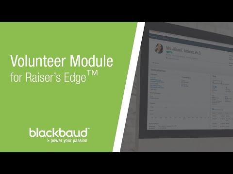 Volunteer Module