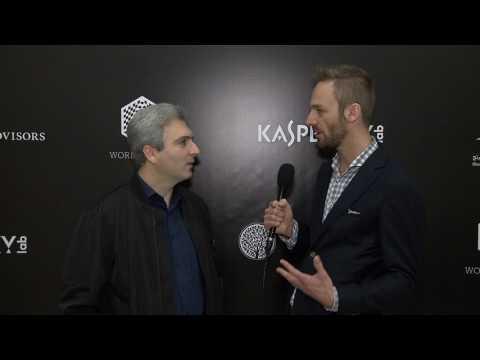 Day 8 Interview with GM Vladimir Akopian, coach of Salem Saleh