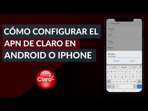 ¿Cómo Configurar el APN de Claro en Cualquier Celular Android o iPhone?