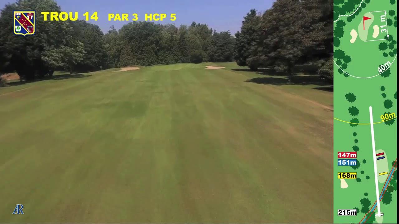 Vidéo du trou numéro 14 | Golf La Barouge Mazamet