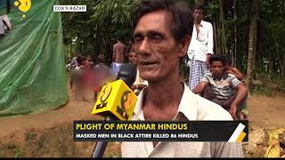 More than 500 Hindus also fled to Bangladesh with Rohingya Muslims in 2 weeks
