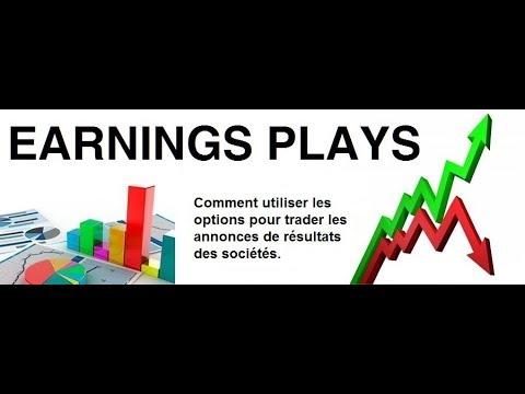 """Webinaire avec Paul MARCEL de Celtinvest: """"Comment Trader les earnings avec les Options"""""""