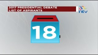 Dates of the 2017 Presidential debate announced