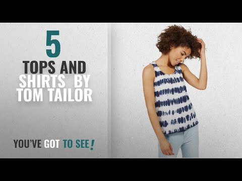 Top 10 Tom Tailor Tops And Shirts [2018]: Tom Tailor Women's Sleeveless Tank Top