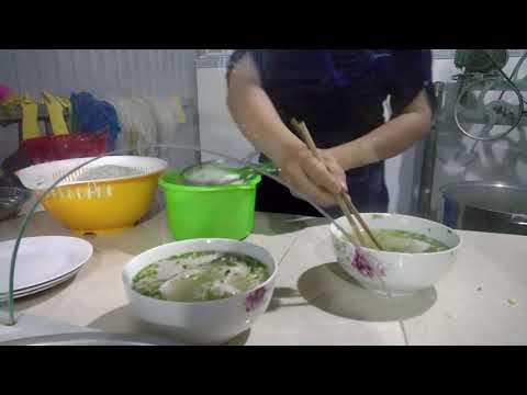 """In 4K (ultra HD) Bún quậy Kiên Giang! Bun """"quay"""""""