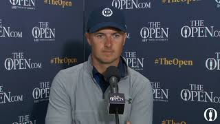 Jordan Spieth Friday Interview 2021 The Open Championship