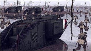 BRITISH ASSAULT WW1 LINE DEFENSE