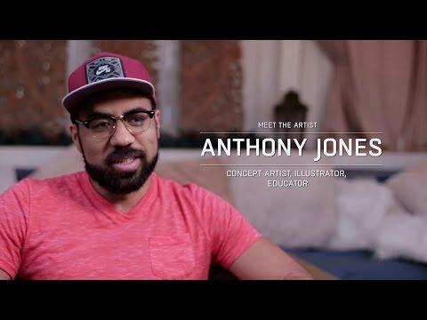 Meet the artist: Anthony Jones
