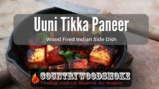 Uuni Wood Fired Paneer Tikka