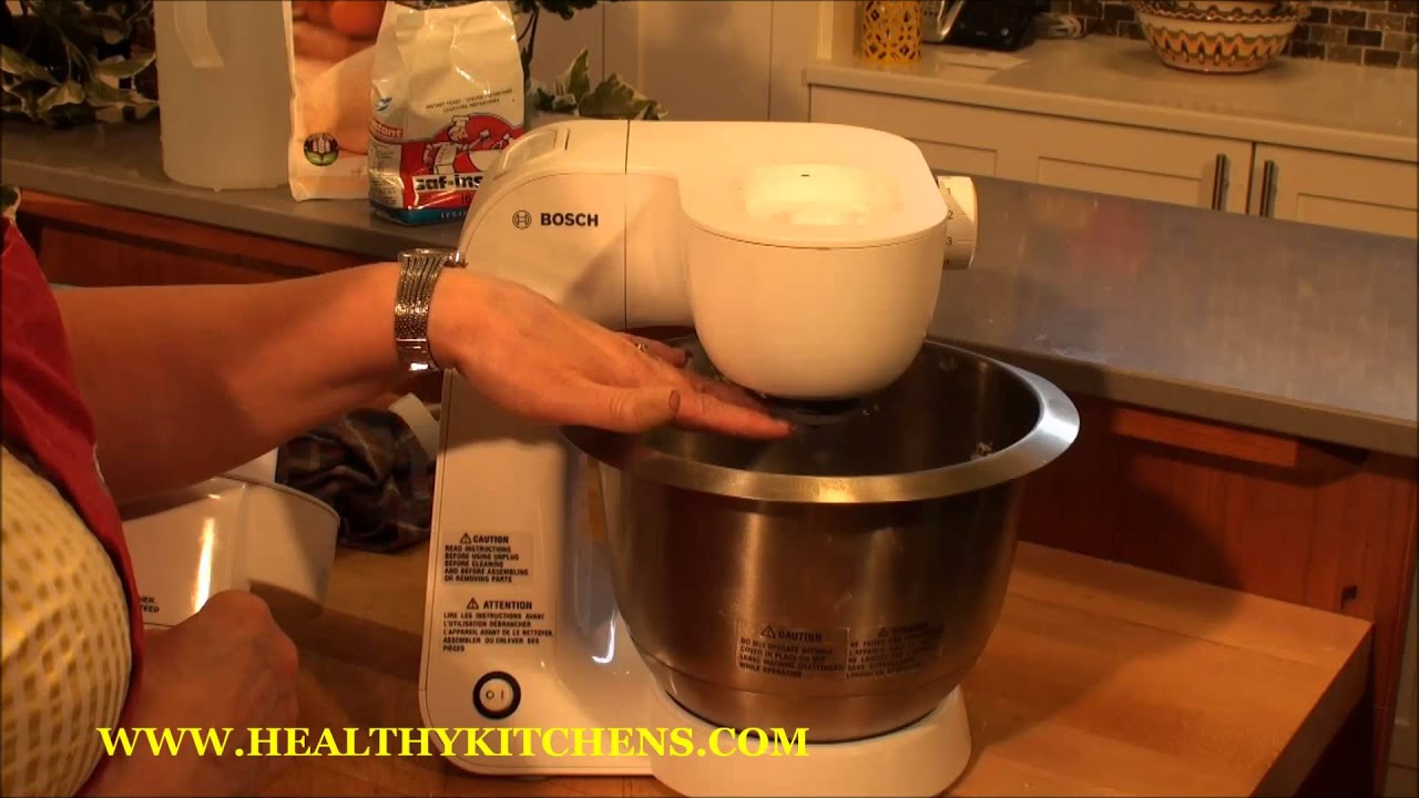Bosch Styline Mum5 Mixer Demonstration Cinnamon Rolls Youtube