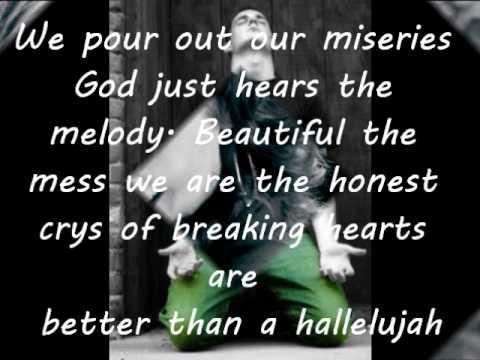 Better Than a Hallelujah Lyrics