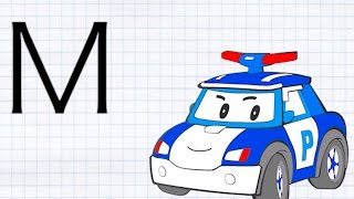 Развивающий мультик для детей: Учим русский алфавит