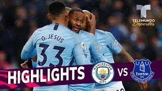Manchester City vs. Everton: 3-1 Goals & Highlights | Premier League | Telemundo Deportes