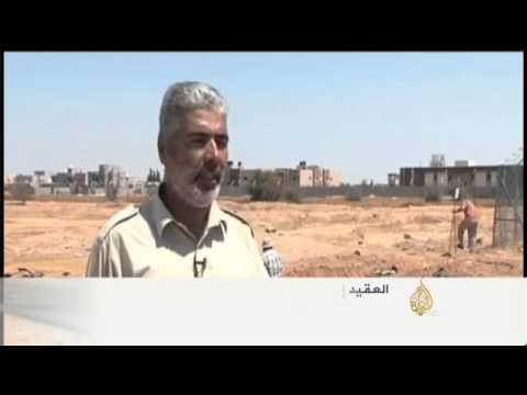 قوات فجر ليبيا تبدأ بنزع الألغام بمحيط مطار طرابلس