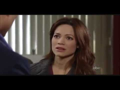 General Hospital  February 1st, 2013  AJ Has A Panic Attack