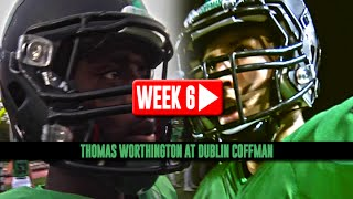 HS Football: Thomas Worthington at Dublin Coffman [10/3/14]