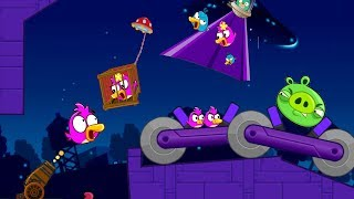 Angry Birds Collection Cannon 4 - TAKE ALL BIRDS BACK FROM BAD PIGGIES LEVELS!
