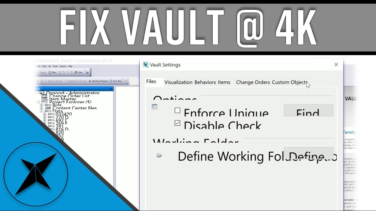 How To Fix Autodesk Vault on 4K Monitor