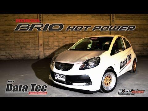 Honda Brio ตัวแข่ง Drag แรงด้วย Data Tec และของซิ่งทั้งลำ - BoxZa Racing