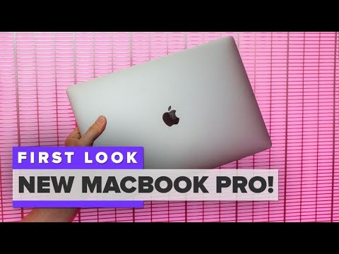 New MacBook Pro first look (2018)
