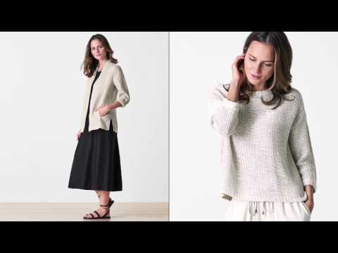 EILEEN FISHER Spring 2017 April Collection‬‬‬