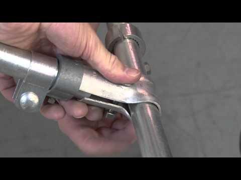 Slip Fit Front Bar Fitting - Awning Frame Hardware