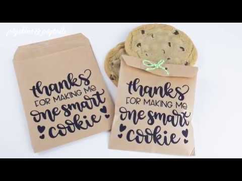 How To Screen Print On Paper Bags Using Craft Vinyl