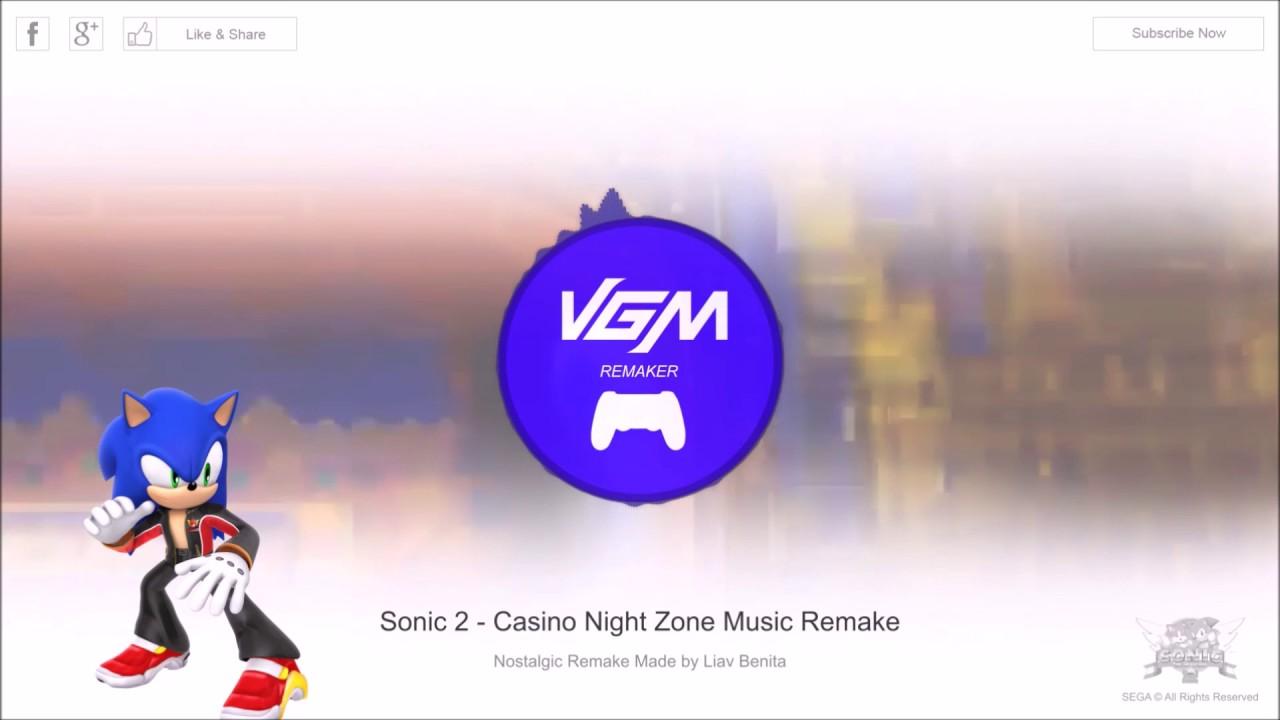 Sonic casino night music