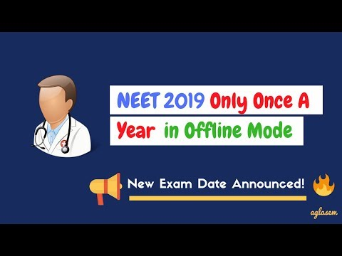 NEET 2019 Exam Date Changed; Major Changes Announced [Live News Updates]