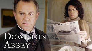 The Sinking Of The RMS Titanic | Downton Abbey