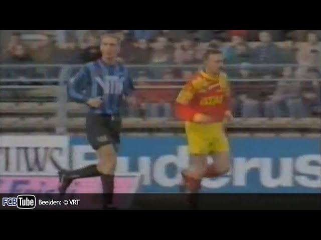 1993-1994 - Beker Van België - 04. Halve Finale - Club Brugge - Germinal Ekeren 4-0