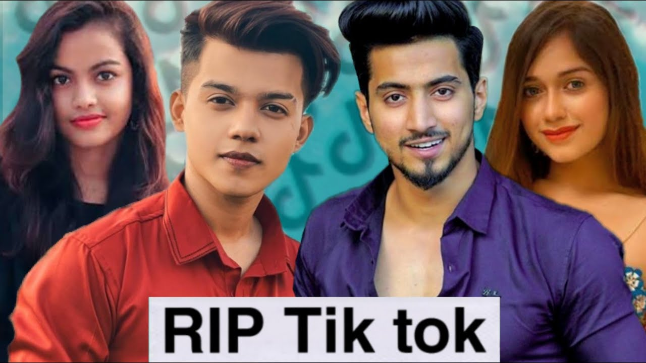 RIP TIK TOK || Tiktokers reaction on Tik Tok Ban || san ki roast
