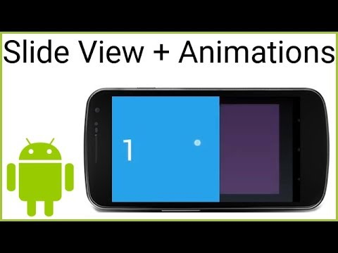 Swipe View + Animations - Android Studio Tutorial