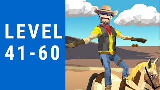 Cowboy Flip 3D Game Walkthrough Level 41-60