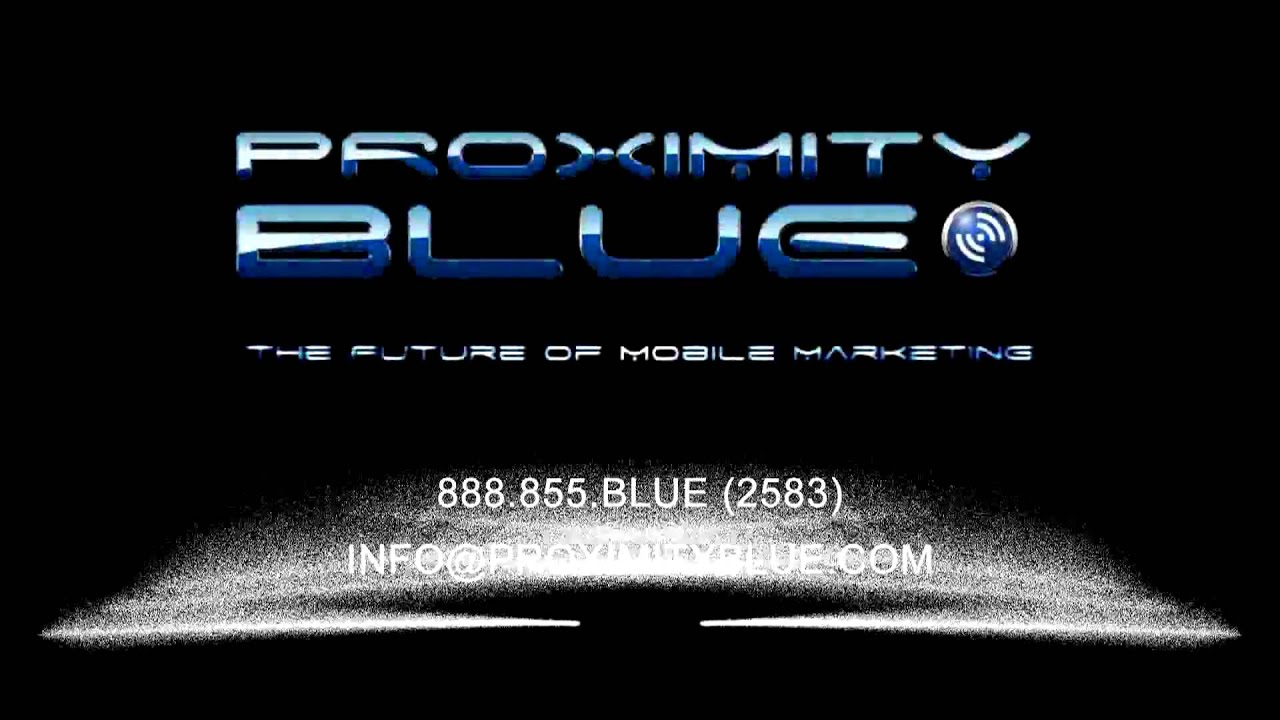 5de82cac23 Proximity Blue Mobile Marketing   Solutions Agency - YouTube