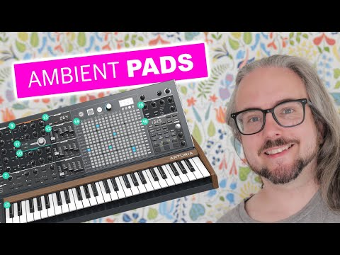 Can you make pad sounds with the Matrixbrute?!