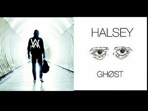 Alan Walker Ft. Halsey - Faded Ghost (Faded & Ghost Mashup)