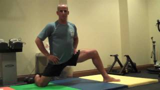 short and long adductor stretch