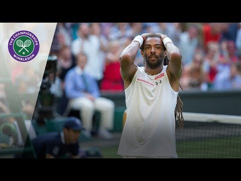 Dustin Brown v Rafael Nadal: Wimbledon second round 2015 (Extended Highlights)