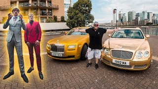 FANS ATTACK JAKE & LOGAN'S GOLD Rolls-Royce and Bentley!