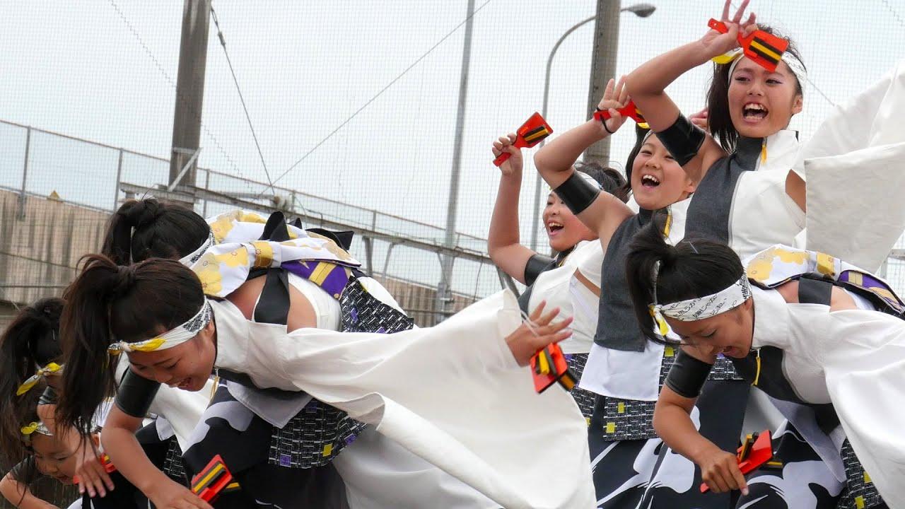4K [決勝演舞] 笑゛Jr. (じょうじゅにあ) 犬山踊芸祭2015 Yosakoi dance