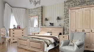 Спальня из коллекции мебели Бланш в стиле Прованс.(Все изделия выполнены из натурального массива и шпона дуба, а варианты крашения «беленый дуб» и «белая..., 2016-10-21T07:37:12.000Z)