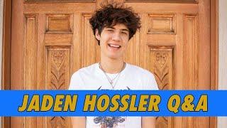 Jaden Hossler Q&A