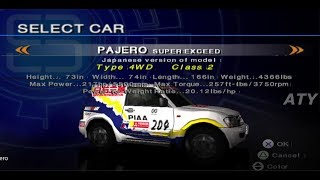 PCSX2 Driving Emotion Type-S Province Beginner Mitsubishi Pajero Super Exceed GAMEPLAY