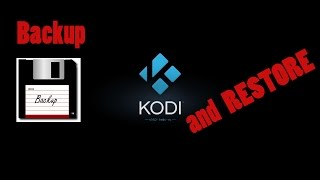 How to do backups of your kodi  XBMC settings and library