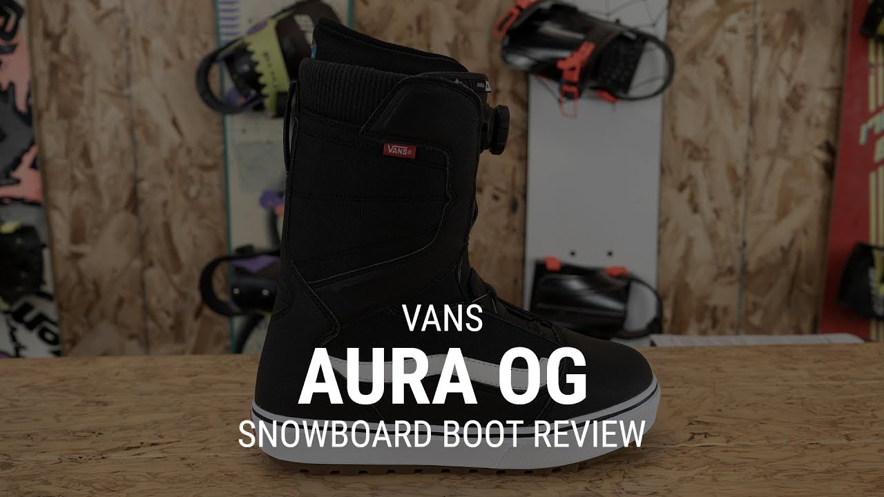 c280bd0242 Vans Aura OG 2019 Snowboard Boot Review - Tactics - YouTube