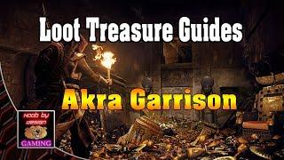 Assassins Creed Origins - Akra Garrison - Loot Treasure